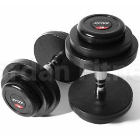 Expert Leisure Free Weights Jordan Rubber Dumbell Set