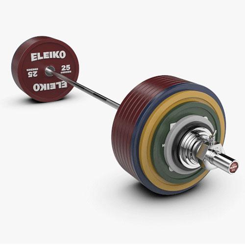 Eleiko Ipf Powerlifting Competition Set Strength